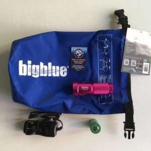 Linterna Big Blue Glossy TL2600P