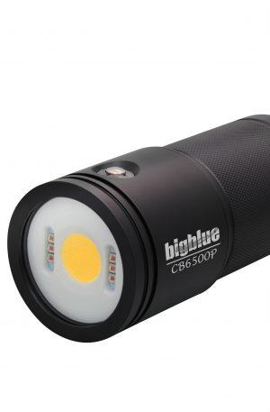 Foco de vídeo submarino BigBlue CB6500P