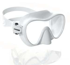 Máscara buceo F1 Blanca